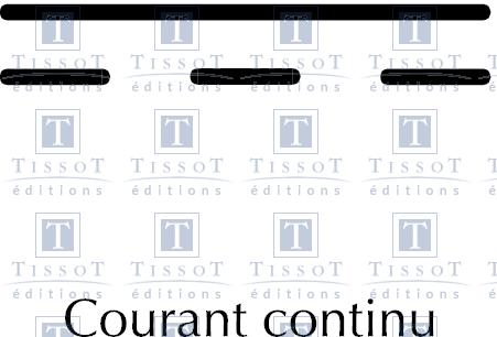 courant continu symboles ditions tissot. Black Bedroom Furniture Sets. Home Design Ideas