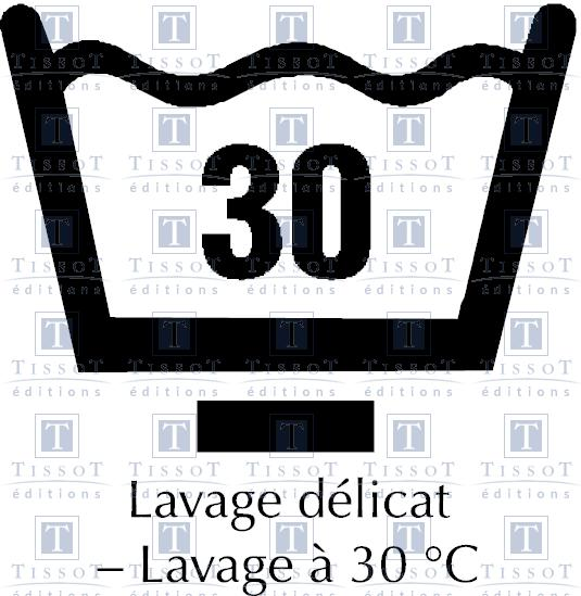 lavage d licat lavage 30 c symboles ditions tissot. Black Bedroom Furniture Sets. Home Design Ideas