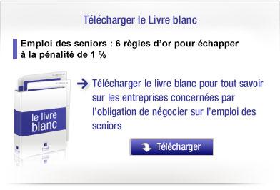 Emploi des seniors : un délai supplémentaire de 3 mois pour les PME (24/12/2009)