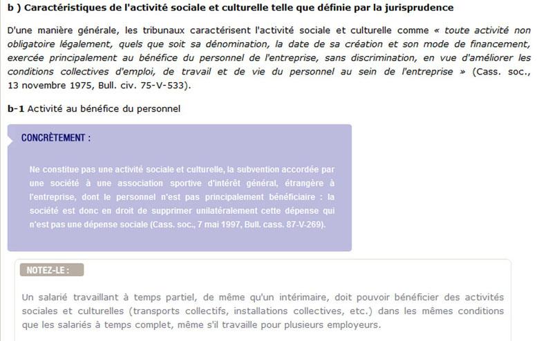 Guide Pratique Des Representants Du Personnel Missions Et