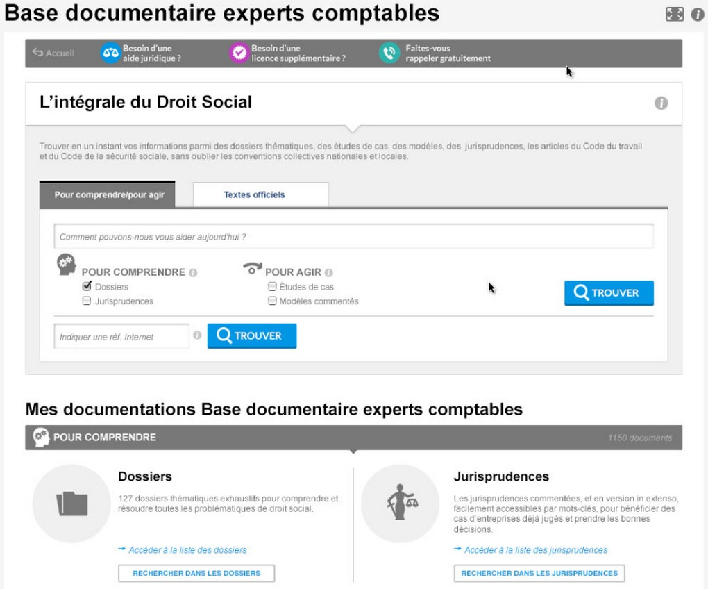 Base Documentaire Experts Comptables Editions Tissot