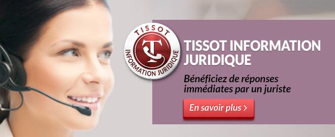 TISSOT INFORMATION JURIDIQUE
