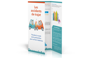 Dépliants accidents de trajet