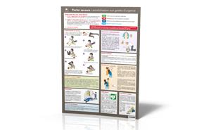 Affiche - Porter secours : sensibilisation aux gestes d'urgence