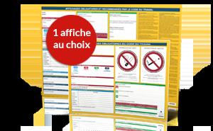 Affichages obligatoires du Code du travail et affichages recommandés