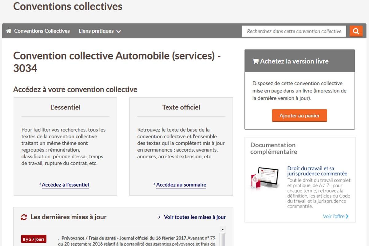Droit Du Travail Automobile Editions Tissot