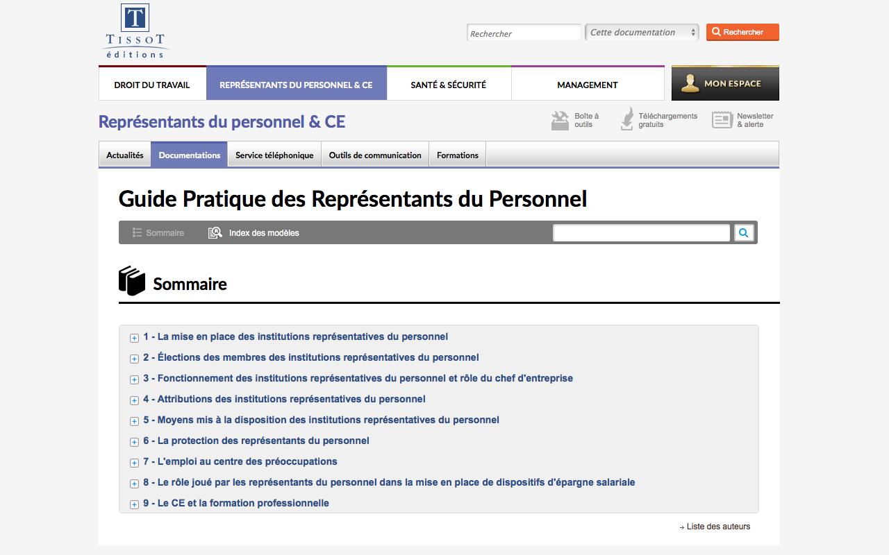 df1a0aeb8a3 Guide Pratique des Représentants du Personnel   missions et ...