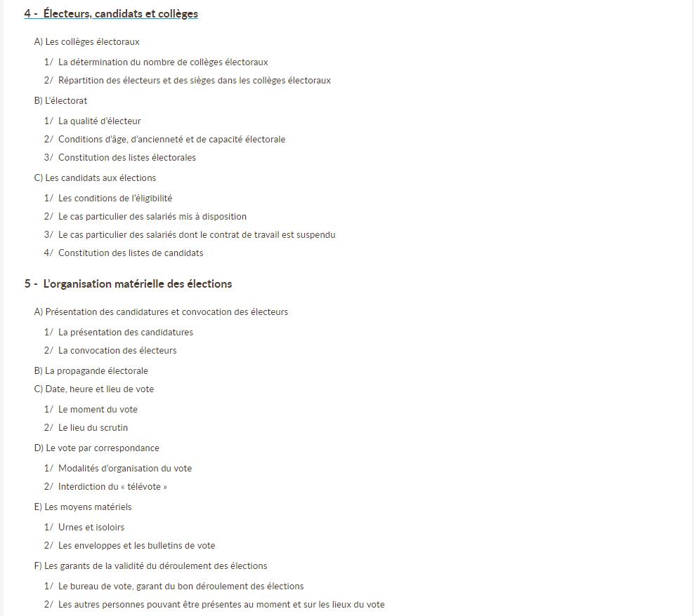 Kit Organiser Les Elections Professionnelles Du Cse