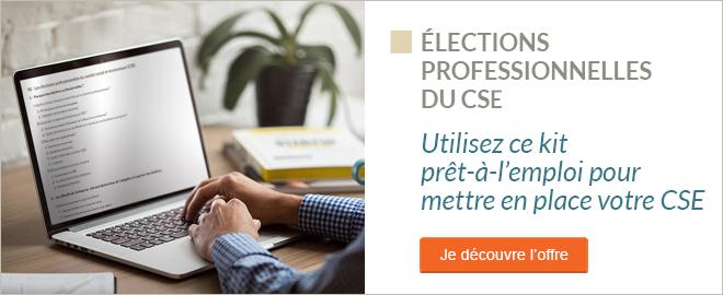 Dossier - Organiser les élections professionnelles du CSE