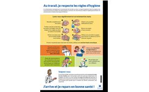 Affiche Hygiène et prévention des contaminations
