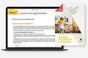 Dossier «Le télétravail : réglementation et management »